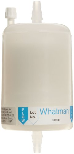 Whatman 6705-7500 Polycap SPF 75 Polyethersulfone Membrane Capsule Filter with SB Inlet and Outlet, 60 psi Maximum Pressure, 1.0 Micron by Whatman