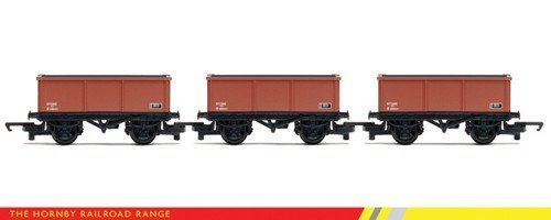 Hornby R6473 RailRoad Mineral 3 Pack 00 Gauge Wagon Rolling Stock by Hornby Hobbies Ltd