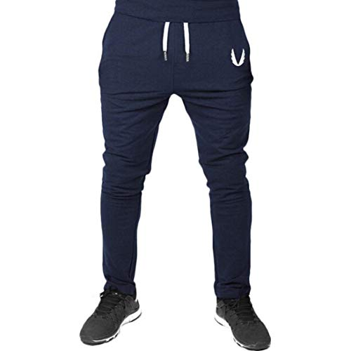 Marine De Simple Elastic Crystallly Workout Slim Running Fit Sport Hommes Style Survêtement Pantalons Fitness Pour ZtqqxHw86g