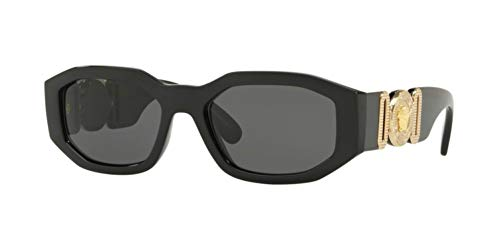 Versace Sunglasses Black/Grey Nylon - Non-Polarized - 53mm