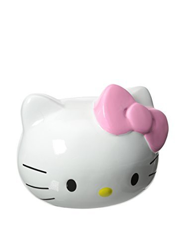 Hello Kitty Light Pink Bow Mini Piggy Bank