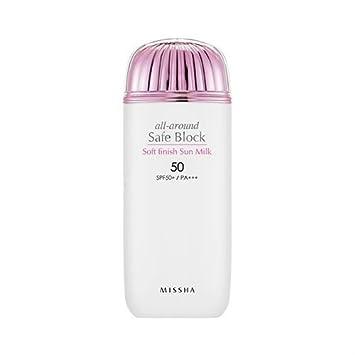 [Missha] All Around Safe Block Essence Sun Milk SPF50+/PA+++ 70ml Holika Holika Prime Youth Black Snail Repair Eye Cream