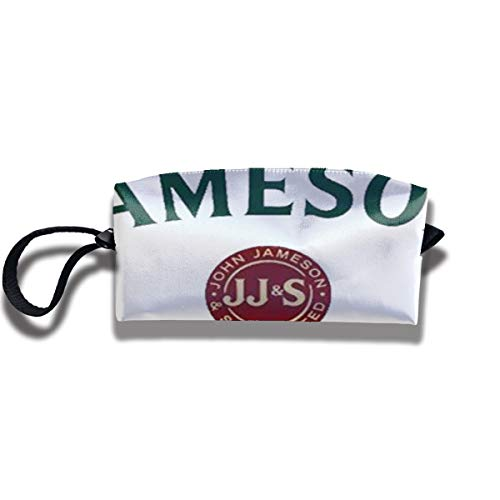 EElason777 Jameson Travel Makeup Cosmetic Pouch Makeup Travel Bag Purse for Women Or Girls