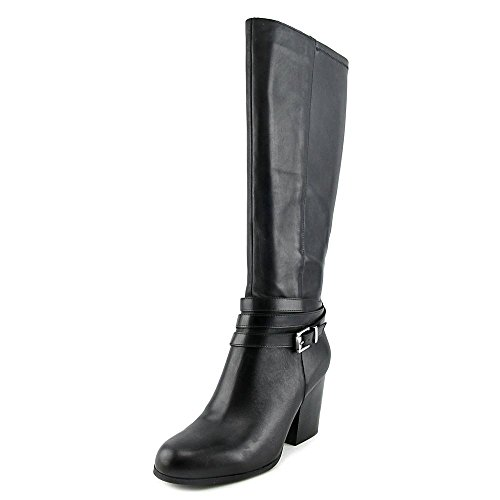 Bar Womens Toe Paisley Fashion Boots Knee III Black Closed High T1qSAaTw