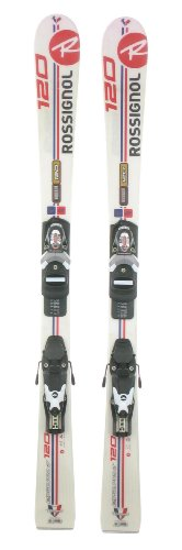 Used Rossignol Edge Jr. Kids Shape Snow Skis with Comp-j Binding A