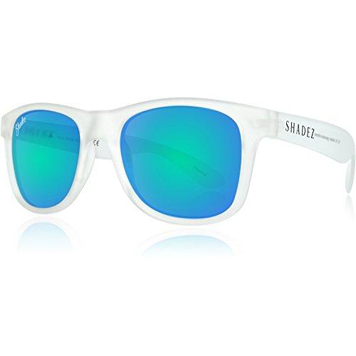 Shadez Shz 214 Lunettes de Soleil Polarisées Mixte Adulte, Transparent-Light Blue