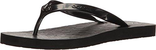 COACH Womens Abbigail Black Rubber Shoe