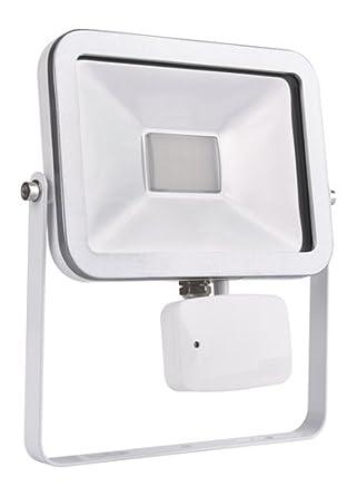 MKC lámpara a LED 3200 K con sensor Microondas IP65 de exterior ...