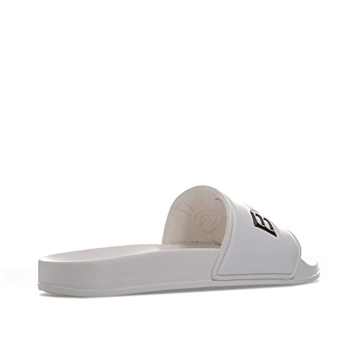 Bjorn Borg Mens Harper Sliders Uk 11 Bianco