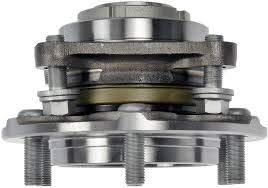 Detroit Axle - Front Wheel Bearing & Hub Assembly for 2WD ONLY - 2010-2016 Toyota 4Runner - [2007-2009 Toyota FJ Cruiser] - 2005-2015 Toyota Tacoma PreRunner
