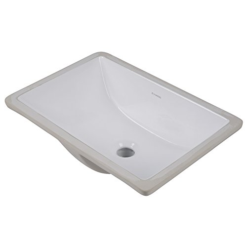 rectangular undermount bathroom sink white boharers bc2001c undermount rectangular lavatory vitreous 24036