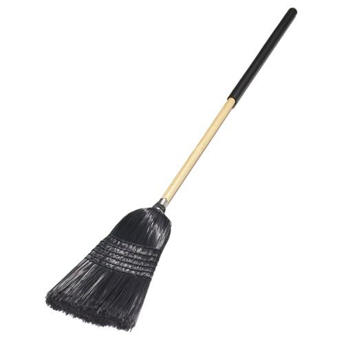 Carlisle Flo Pac Synthetic Corn Black Warehouse/Janitor Broom, 57 inch -- 1 each. by Carlisle