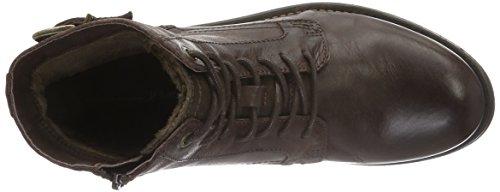 Tom Tailor 1685602, Botines para Hombre Marrón - Braun (mokka)