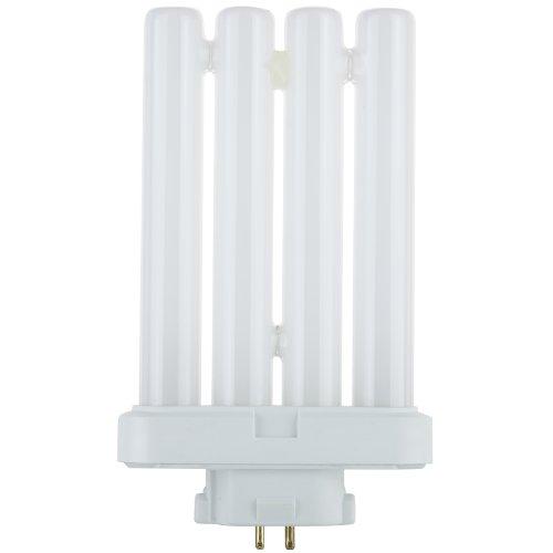 Sunlite 05770-SU FML27/30K/CD1 27-watt FML 2-Pin and 4-Pin Quad Tube Compact Fluorescent Plug-in GX10Q-4 Base Lght Bulb, Warm White (Fluorescent Electronic Tube)