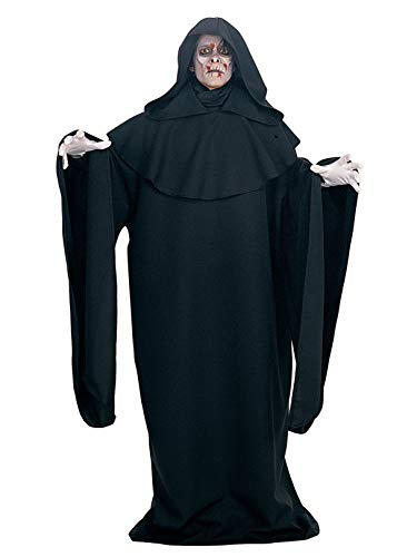 Rubie's Deluxe Full Length Layered Robe, Black, One Size Costume -