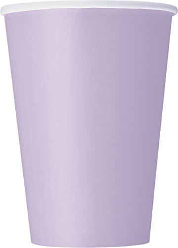 12oz Lavender Paper Cups 10ct