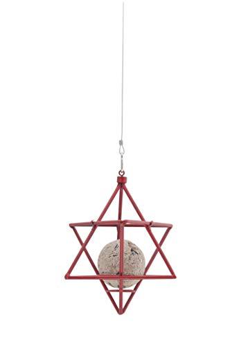 WILDLIFEGARDEN Star Suet Ball Feeder, Decorative and Functional Swedish Design
