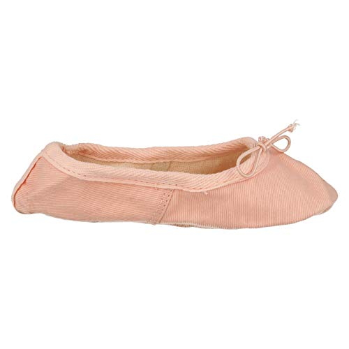 Spot Shoes On Canvas Pink Ballet Childrens Sole Soft PPBwOrZq