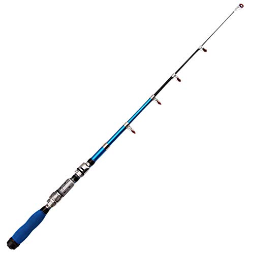 Fishing Rod Sea Fishing Rod Saltwater Fishing Rod Small Pocket Size Fly Fishing Rod Freshwater Fishing Rod Travel Fishing Rod Portable Fishing Rod Ultra-Short Telescoping Fishing Rods