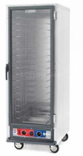 Full Height Mobile Heated Cabinet w/(18) Pan Capacity, 120v