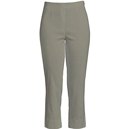 Slim Mujer Robell Pantalones Marie Helltaupe Para Corte 07 Capri Color nbsp; Elásticos 88Y4gq