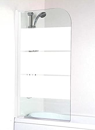 Aqua + – Mampara de baño extensible contraventana Simple ...