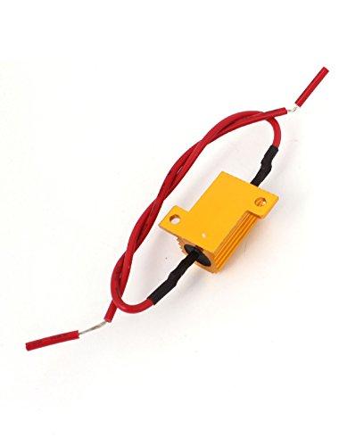 [해외]페어 카 DRL 주간 주행 등 없음 오류 5 Ohm 25W 저항 디코더/Pair Car DRL Daytime Running Light No Error 5 Ohm 25W Resistor Decoder