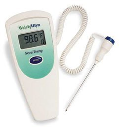 Welch Allyn Sure Temp Plus 690 Thermometer. Sure Temp 690 Thermometer - Model 47000