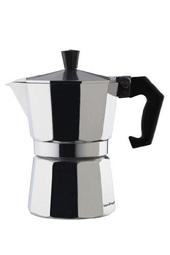 Italian Coffee Maker Seals : VonShef 3 Cup Italian Espresso Coffee Maker Stove Top Macchinetta - Includes FREE replacement ...