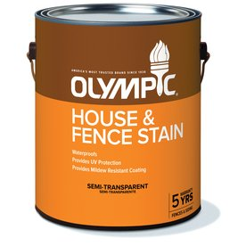 (Olympic House & Fence Stain Semi-transparent,)