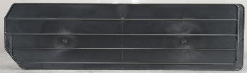 Akro-Mils 40286 Lengthwise Divider for 30286 Super Size AkroBin, Package of 4, Black by Akro-Mils