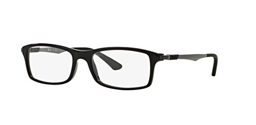Ray-Ban RX7017 Eyeglasses Shiny Black - Rayban Prescription