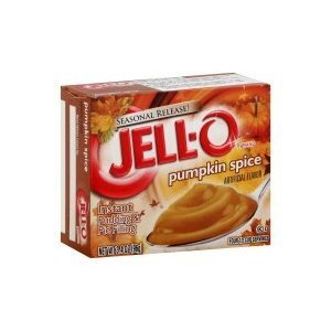 Kraft Jell-O Instant Pudding & Pie Filling, Pumpkin Spice, 3.4 Oz. (Pack of - Pie Jello