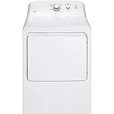 "GE GTD33EASKWW 27"" Electric Dryer with 7.2 cu. ft. Capacity, in White"
