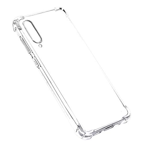 Galaxy A50 Case, Clear Flexible Soft TPU [Slim Profile] Light Weight Scratch Resistant Texture Design Protective Cover for Samsung Galaxy - Ezgear Protective Case