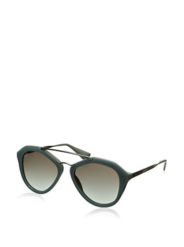 Prada Women's PR12QS Sunglasses, Green