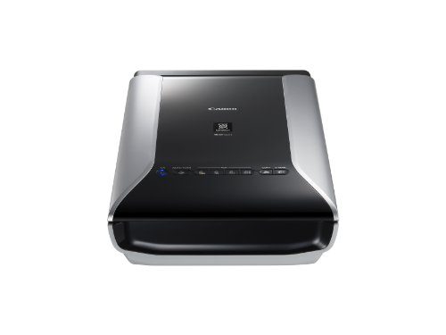 Canon CanoScan 9000F Mark II Film Negative Scanner (35 mm Film, 120 Format Film, 9.600 x 9.600 dpi, USB 2.0) schwarz