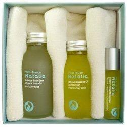 Natalia Labour and Birth Box - Total Preparation - Labour Massage Oil - Labour Bath Ease - Labour Instant Energiser - New Mum Gift