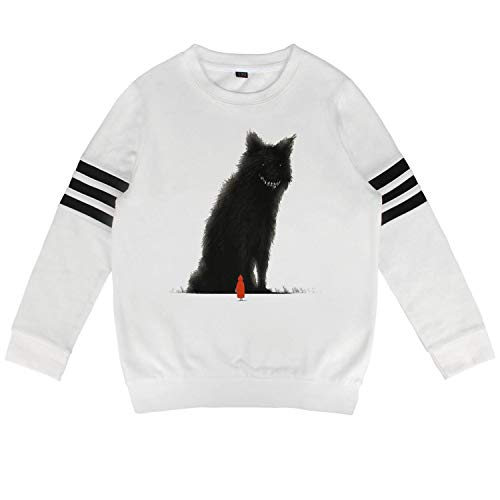 Kids Big Wolf and red Riding Hood Sweatshirt Warm Long Sleeve Kids Clothes for Boys Or Girls