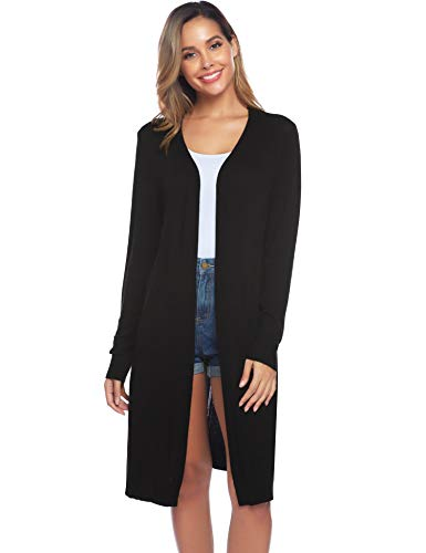 Open Front Cardigan Sweater Outwear
