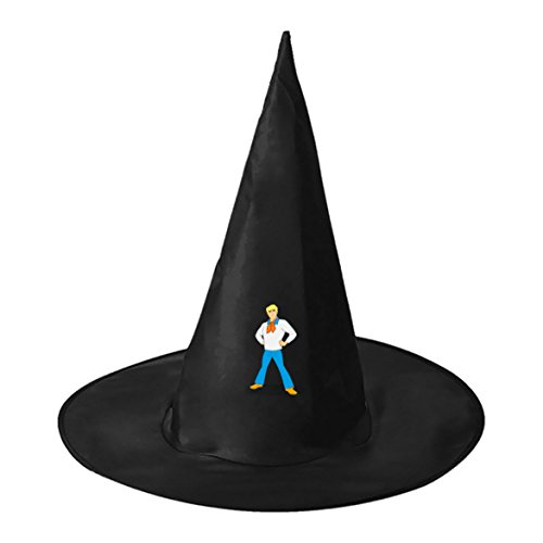 Velma Costumes Halloween And Fred (Halloween Wizard Hat Fred Jones Kids Adult Black Witch Hats Personalizes Costume)