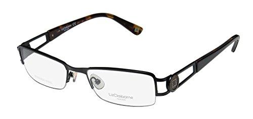 Eyeglasses 0rx1 Satin - Liz Claiborne 351 0RX1 00 Satin Black