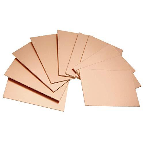- 10pcs Single Sided Copper Clad Laminate Pcb Circuit Board Plate DIY 70x100x1.5mm