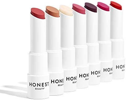 Honest Beauty Tinted Lip Balm, Fruit Punch | Vegan | 6+ Hours Of Moisture | Paraben Free, Silicone Free, Cruelty Free | 0.141 Oz. (Packaging May Vary)
