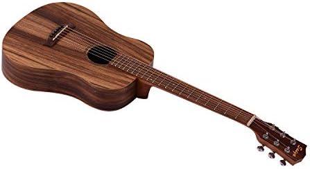 Akoestische gitaar 34 inch teakhout Materiaal gitaar met gigbagriem Reserve snaren Capo plectrums Gitarenpakket voor beginners