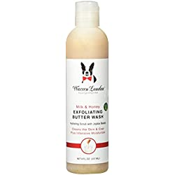 Warren London Grooming Products 844171 Milk & Honey 8 oz Exfoliating Butter Was for Dogs
