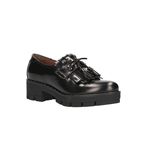 Negro Giardini Nero Para Zapatos Cordones De A806553d Mujer 0wq8wUH