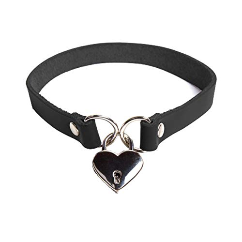 VP Leather Maria Collar Premium Latigo Leather (Jet Black, Large)