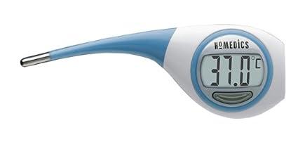 Homedics TO-R101-0EU2 - Termómetro de boca digital, 10 segundos