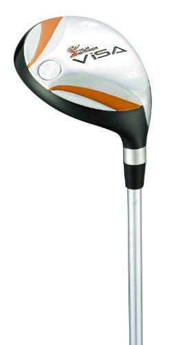 Palm Springs Golf Club Men's Right Hand Visa #5 24-Degrees Hybrid (Senior), Outdoor Stuffs